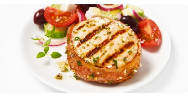 Mediterranean grilled chicken tournedos