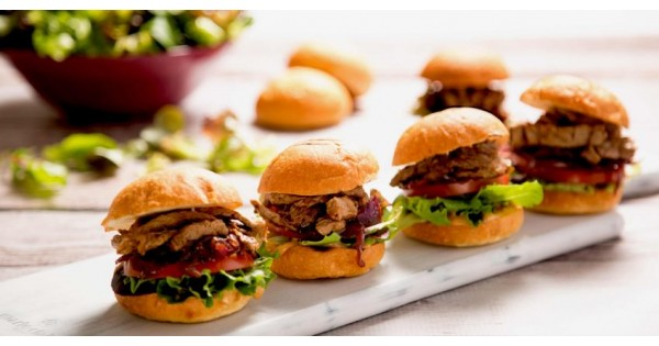Spicy Beef Sliders With Caramelised Onions