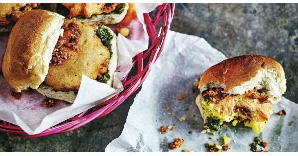 Anjum Anand's ultimate potato burger