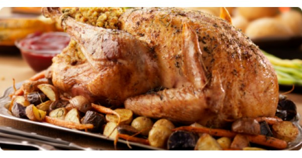 Apple, Bacon and Spices Turkey Stuffing