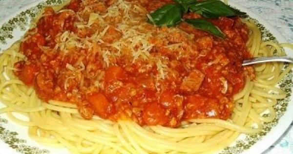Anna's Spaghetti Bolognese