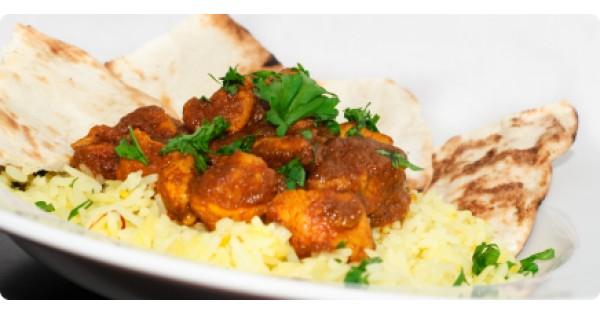 Spicy Roast Turkey Curry