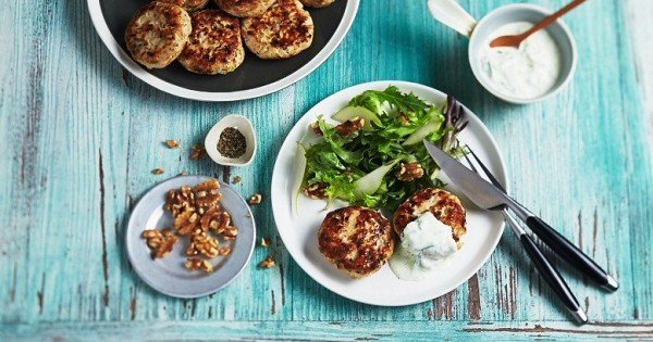 Chicken Rissoles with Lemon & Tarragon