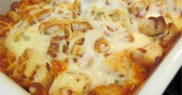 The Best Parmesan Chicken Bake