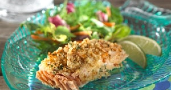 Crusted Lime Fish Bake