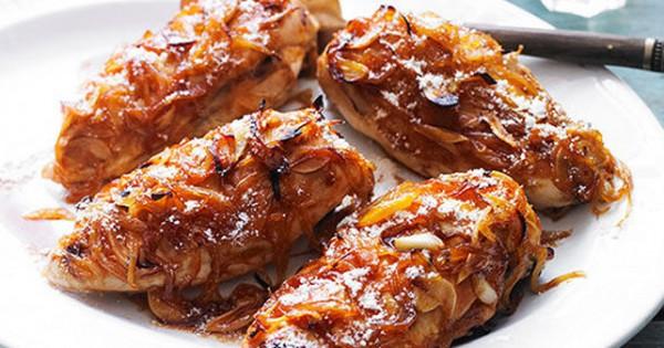 Caramelized Garlic & Onion Chicken