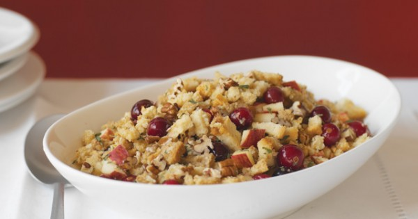 Apple, Cranberry Pecan Stuffing