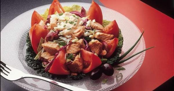 Fanciful Salmon Salad