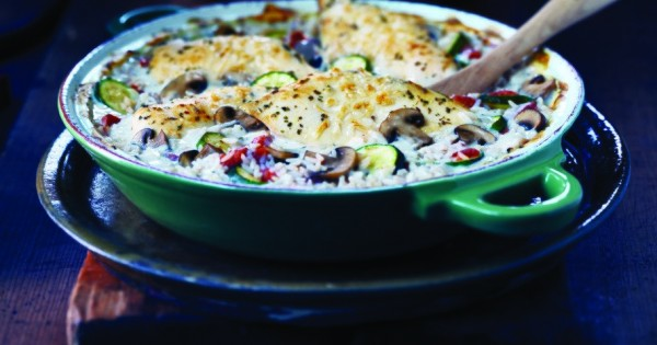 Italiano Chicken and Rice Bake
