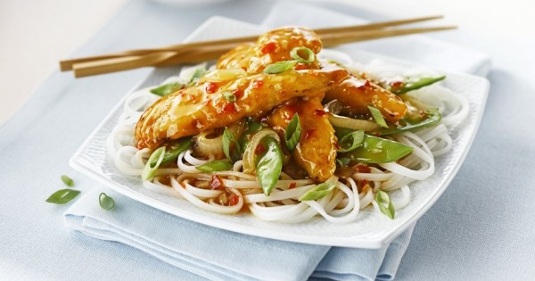 Sweet Chili Ginger Chicken