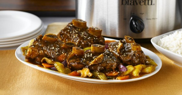 Asian Braised Slow Cooked Short Ribs