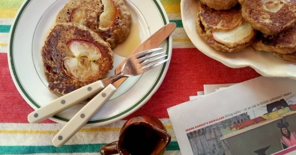 Apple Oatmeal Pancakes | Wholesome and Hearty Breakfast Fare