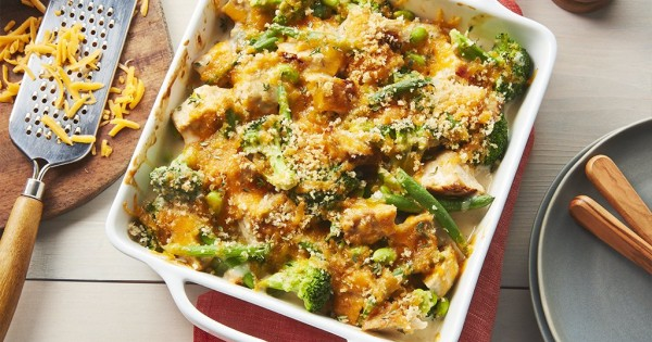 Baked Thyme Chicken and Vegetables