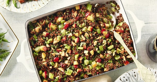 Apple and Fennel Quinoa Stuffing