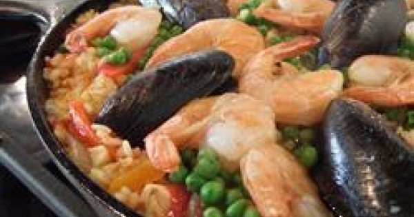 Ariana's Seafood Paella