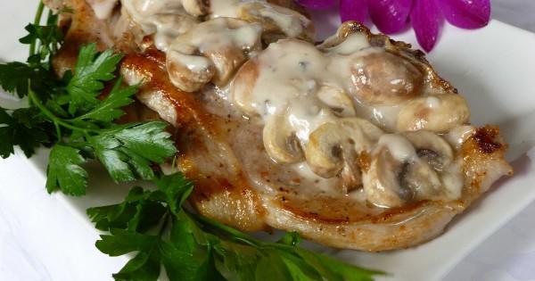 Pork Chops with Mushroom Sauce