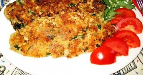 Fried Fish Coated with Macadamia Nuts