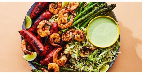 Shrimp and Chorizo Mixed Grill