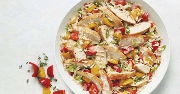 30 Minute Chicken & Rice Dinner