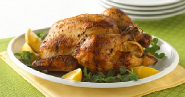 Greek-Style Lemon Roast Chicken