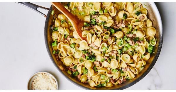 Broccoli Bolognese with Orecchiette