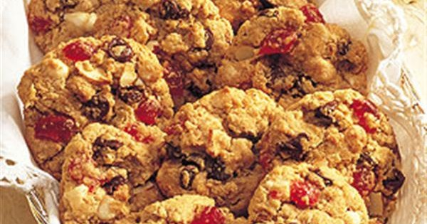 Black Forest Oatmeal Cookies