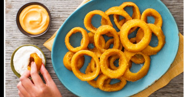 Double-Dip Onion Rings