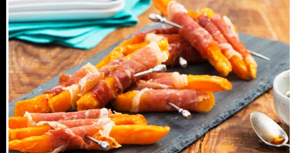 Prosciutto-Wrapped Sweet Potato Fries