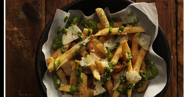 Peruvian Pesto Fries