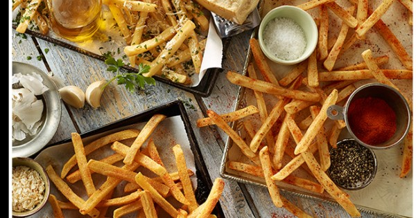 Cookout-Style Cajun Fries Recipe Medley
