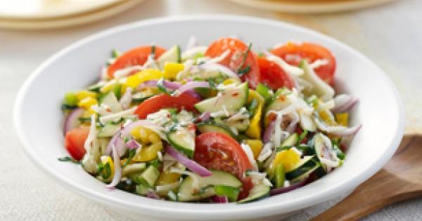 Mediterranean Marinated Vegetable Salad