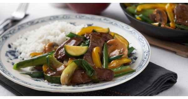 Chinese Five Spice Beef Stir fry