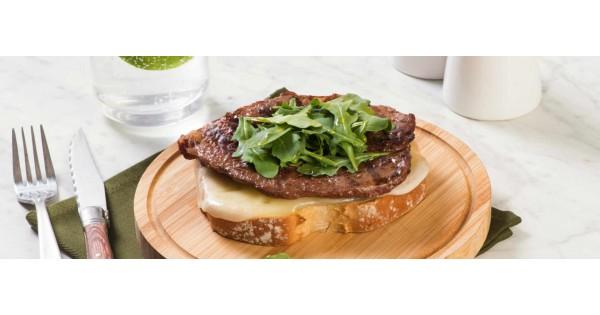 Open Faced Veal Sandwich