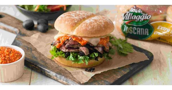 Romesco Steak Sandwich