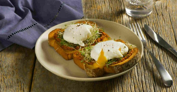 West Coast Toast with Poached Egg
