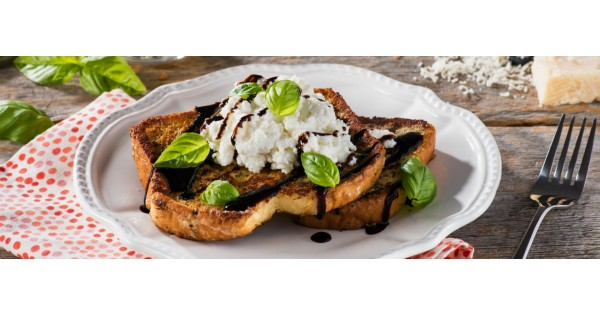 Savoury Herb and Parmesan French Toast