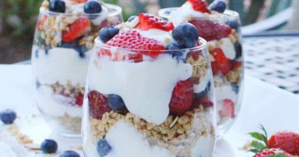 The Yogurt Parfait - Change Up Your Camping Breakfast Routine