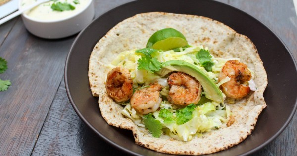 Delicious Shrimp Tacos with Lime Coleslaw