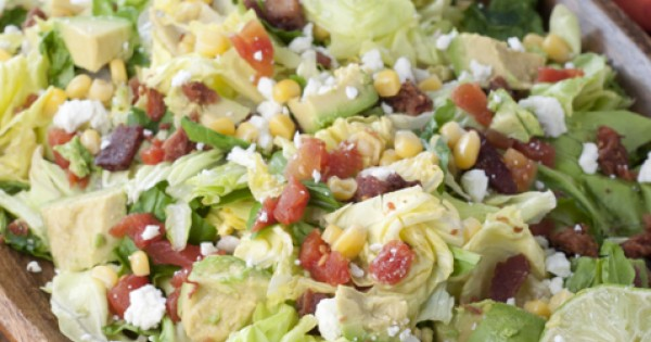 BLT Chopped Salad with Avocado