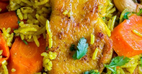 Chicken Biryani (30 Minute Indian Chicken & Rice)