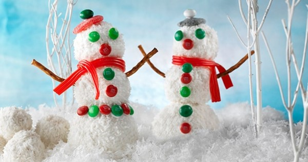 Frosted Snowmen Treats