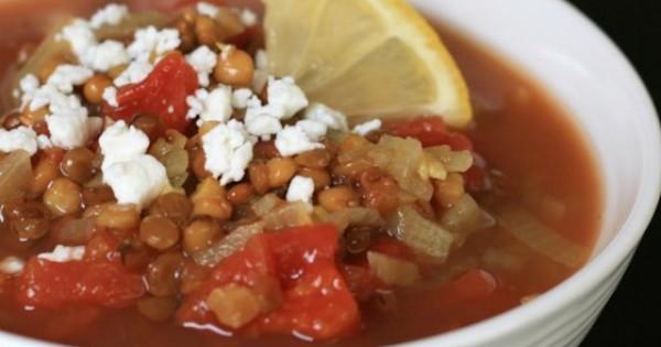 Jorge's Indian-Spiced Tomato Lentil Soup