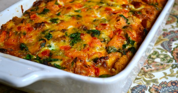 Egg and Sausage Breakfast Casserole