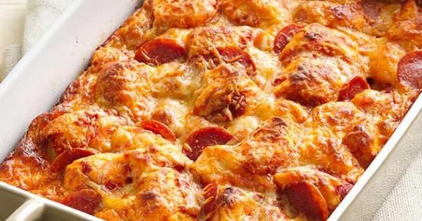 Easy Pizza Bake