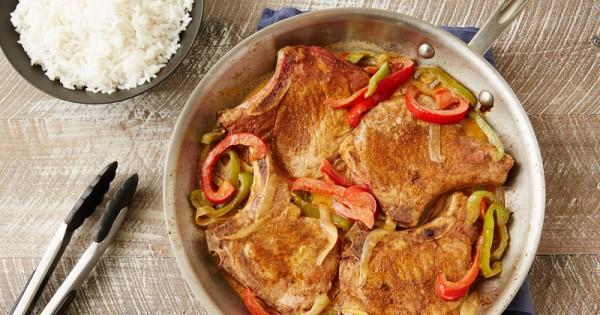 Creamy Smothered Cajun Pork Chops