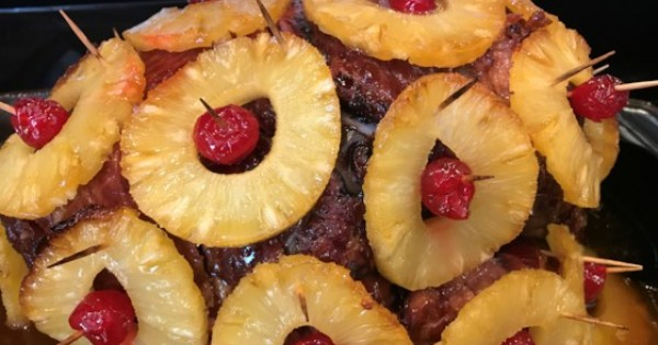 Ham with Pineapple