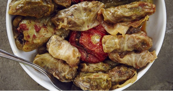 Armenian Stuffed Cabbage (Dolmas)