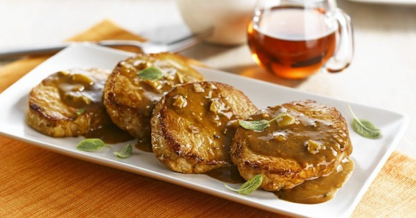 Maple and Herb Marinated Pork Chops