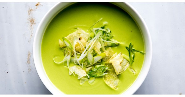 Cream of Cashew Pea Soup
