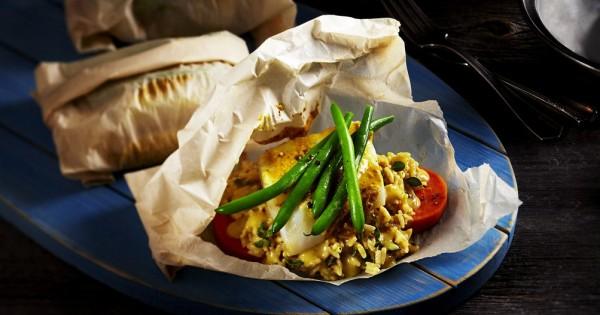Dijon Cod & Veggie Bundles